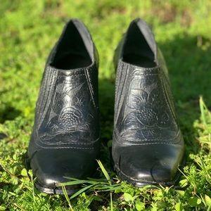 Antonio Melani black booties